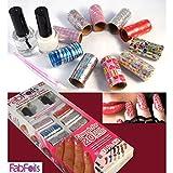 CPEX Fab Foils 13 Pcs Salon Style Nail Art Kit (Multi color)