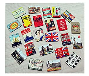 Buy Cool Fridge Magnet London Vintage Style Super ...