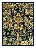 Counted Cross Stitch Chart Tree of Life detail from The Garden of Earthly Delights by Arts and Crafts Movement Founder William Morris