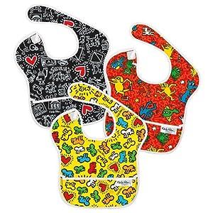婴儿防水围兜3件套(女宝)现价$10.39( 原价$21.95)