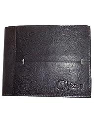 Style98 Black Leather Wallet For Men - B00SOSVOC8