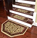 Dean Premium Carpet Stair Treads - Classic Keshan Antique 31