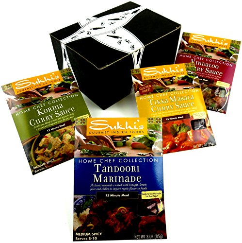 Sukhi's Gourmet Indian Foods Home Chef Collection