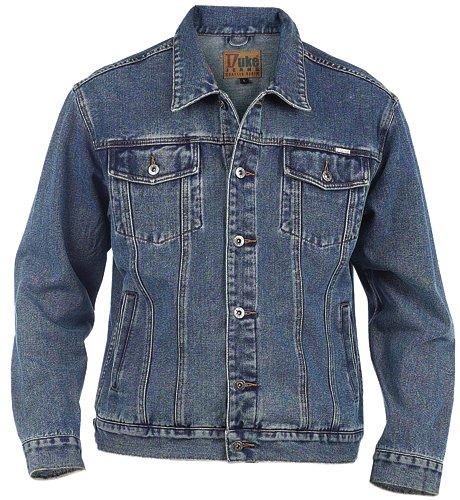 Duke Mens Blue Denim Jacket xl