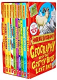 Horrible Geography Collection 10 Books Box Gift Set Pack by Anita Ganeri RRP: £59.90 (Bloomin Rainforests, Cracking Coasts, Desperate Deserts, Earth-Shattering Earthquakes, Freaky Peaks, Monster Lakes, Odious Oceans, Raging Rivers, Stormy Weather, Violen