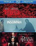 Seven / The Devil's Advocate / Insomnia [Blu-ray]