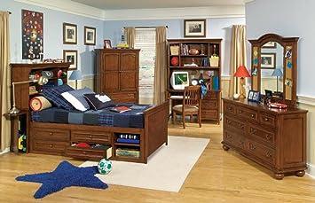 Legacy Classic American Spirit Bookcase Bedroom Set
