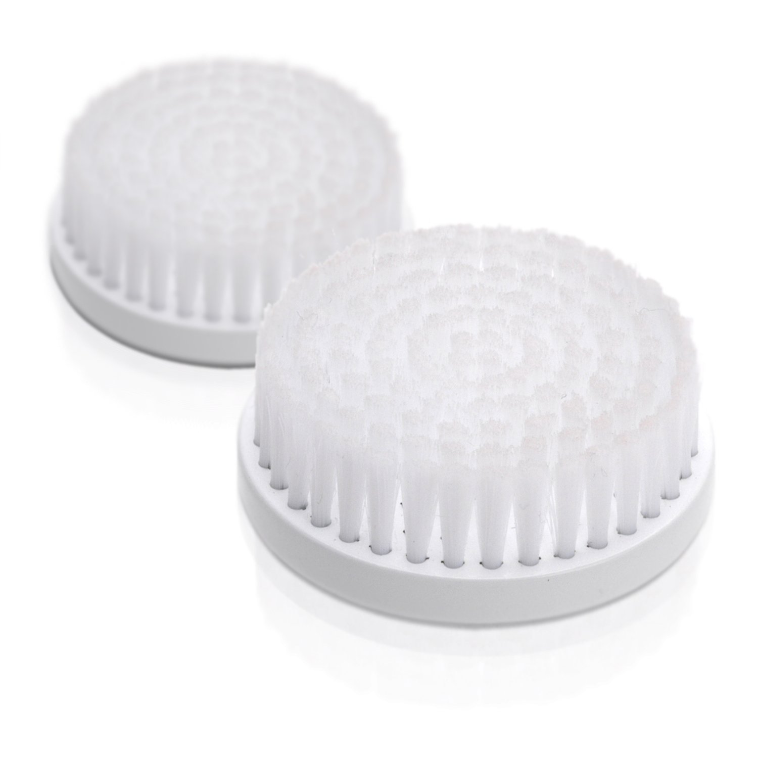 Replacement Heads for The Professional Skin Care System by ToiletTree Products, Soft Facial Brush