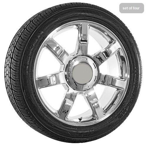 22 Inch Cadillac Escalade Chrome Replica Wheels