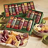 The Swiss Colony Sausages n Cheese Bars 6-Piece Gift Box