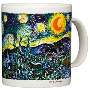Coffee Mug: Van Gogh Starry Night by Chaleur