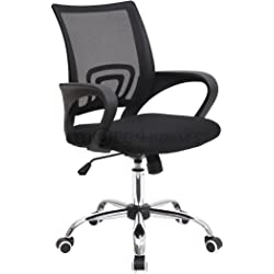 Metro Mesh Office Chair - Black