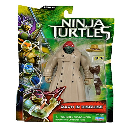 Teenage Mutant Ninja Turtles Movie Raph In Disguise Basic Figure