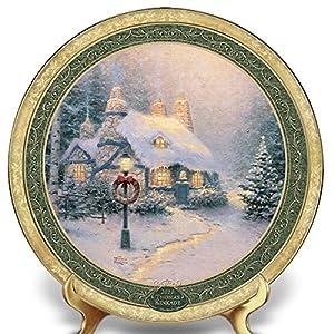 Thomas Kinkade 2011 Annual Christmas Plate
