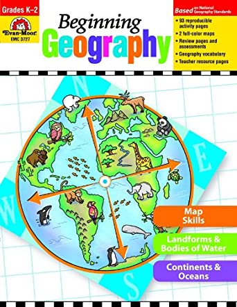 Evan-Moor Beginning Geography Book