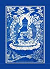 Medicine Buddha ~Cloth Print with Fab…