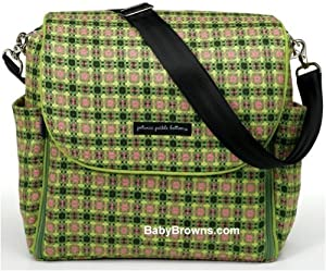 petunia pickle bottom green tea boxy backpack diaper bag diaper tote bags baby. Black Bedroom Furniture Sets. Home Design Ideas