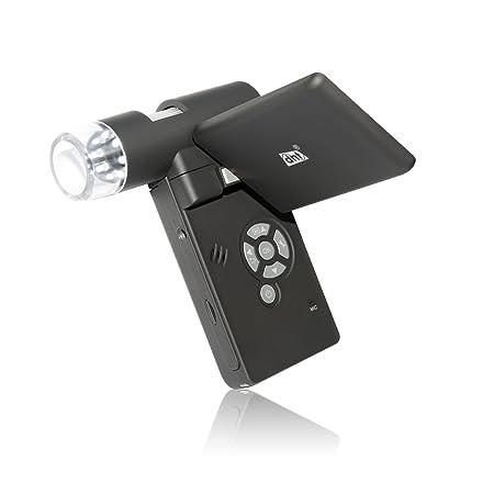 """DNT Appareil photo microscope mobile 12 Mpx Zoom x500 Écran TFT 7,6 cm (3"""")"""