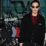 【SLANGY】 2トーンショールニットカーディガン SOUL JAPAN オラオラ