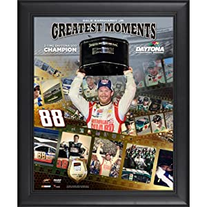 Dale Earnhardt Jr. Framed 16
