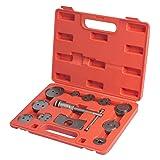 WORKPRO Disc Brake Caliper Compressor Tool Set and Wind Back Tool Kit for Brake Pad Replacement 12-Piece (Tamaño: Brake Tool)