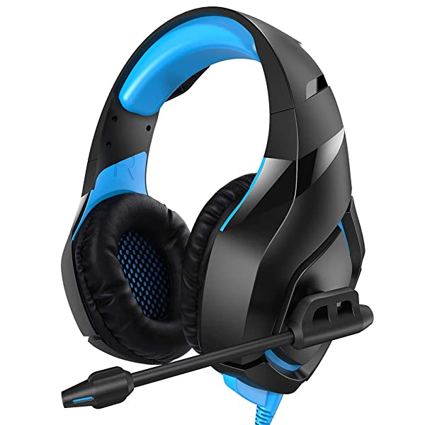RUNMUS Gaming Headset PS4 With 71 Stereo Surround Sound Xbox One Noise Canceling