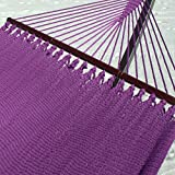 Double Caribbean Hammock - 48 inch - soft-spun polyester - purple