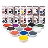 Mehron Makeup Color Cups (MOONLIGHT WHITE) (Color: WHITE, Tamaño: Standard)