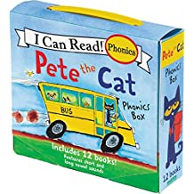 (My First I Can Read) 피터 더 캣 Pete the Cat Phonics Box: Includes 12 Mini-Books 파닉스 북 페이퍼백 세트