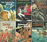 Dig Allen Space Explorer Adventures Complete Set, Books 1-6: The Forgotten Star, Captives in Space, Journey to Jupiter, Trappers of Venus, Robots of Saturn, and Lost City of Uranus