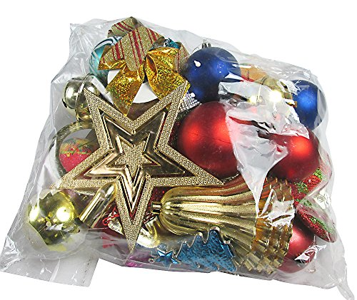 R-STYLE 豪華に装飾 クリスマス ツリー 飾り ボール オーナメント 選べる個数バラエティセット (50個入り)