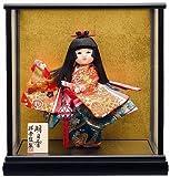 【童人形】明日香(木)8号n【お祝いケース人形】ケース入り舞踊人形