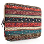 PLEMO Bohemian Style Canvas Fabric 15...