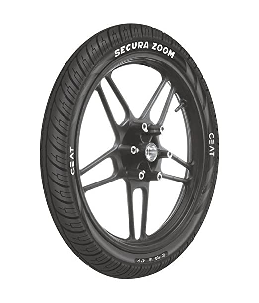 Ceat Secura Zoom P2.75 - 17 Tube-Type Bike Tyre, Front (Home Delivery)