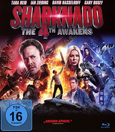Sharknado 4 - The 4th Awakens [Blu-ray]