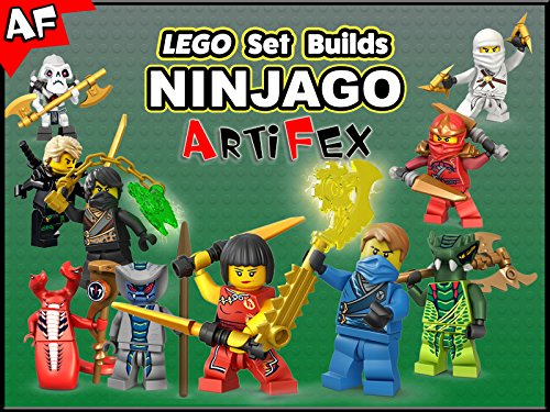 Clip: Lego Set Builds Ninjago - Season 2