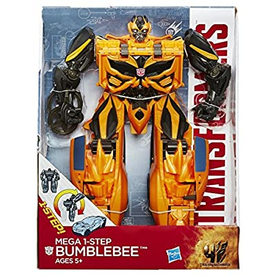 Transformers Age of Extinction Mega 1-Step Bumblebee Figure from Transformers