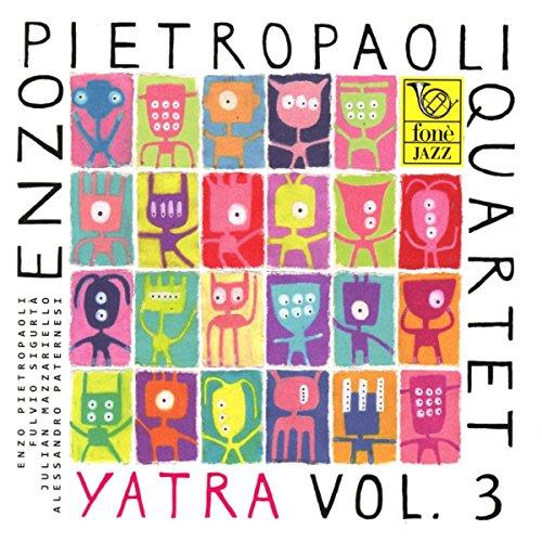 SACD : Enzo Quartet Pietropaoli - Yatra Vol.3 (Italy - Import)