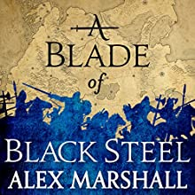 A Blade of Black Steel: Book Two of the Crimson Empire Audiobook by Alex Marshall Narrated by Angele Masters