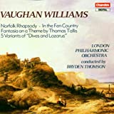 Ralph Vaughan Williams: Norfolk Rhapsody; In the Fen Country; Fantasia on a Theme by Thomas Tallis