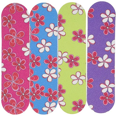 GIRLIE MINI EMERY BOARDS (1 DOZEN) - BULK by Fun Express (Girly Nail Polish compare prices)