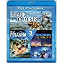 30, 000�Leagues�Under�Sea�&�Shark�Vs�Giant�&�Piranh (2 Discos) [Blu-Ray]