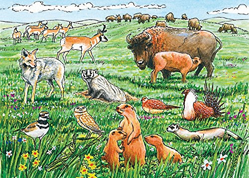 Cobble Hill Life in the Prairie Jigsaw Puzzle, 35-piece