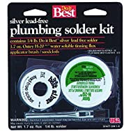 Do it Best H-2095 Water Soluble Lead-free Solder Kit-LEAD FREE SOLDER KIT