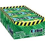 Orbit Mini Micro Pack Gum, Spearmint, 0.025-Pound (Pack of 24)