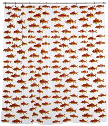 Shower Curtain Fish | Plink Bath Design