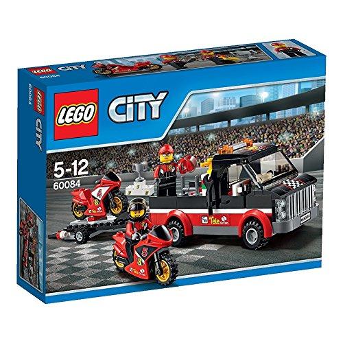 レゴ シティ レースバイクキャリアー 60084
