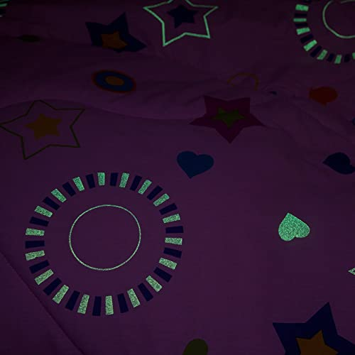 girly glow in the dark bedding