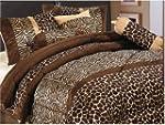 7 Piece Safari - Zebra - Giraffe Prin...