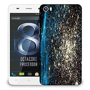Snoogg Plenty Of Stars Designer Protective Phone Back Case Cover For LAVA IRIS X8